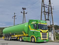 Intra (PL) (Brayoo) Tags: intra bulk scania nextgen transport truck lkw lorry camoin