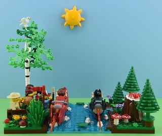 LEGO Summer camp part 3 : Kayak 3/4