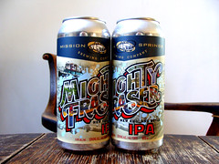 Mighty Fraser IPA (knightbefore_99) Tags: beer cerveza pivo can duo pair malt hops tasty local craft bc ipa india pale ale mighty fraser mission springs