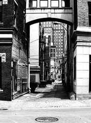 Alley (RansomedNBlood) Tags: eastman5363 highcontrast fpp filmphotographyproject filmphotographyprojectstore 35mm nikonfg street charleston wv westvirginia
