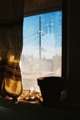 (fritz london) Tags: pentaxmx smcpentaxm50mmf17 kodakektar100 35mm color film losangeles california echopark