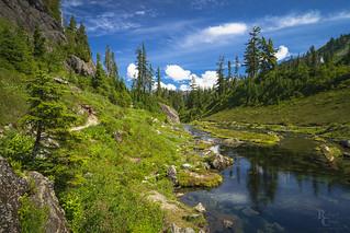 Bagley Creek Blue and Green