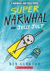 Super Narwhal and Jelly Jolt (Vernon Barford School Library) Tags: benclanton ben clanton narwhalandjelly 2 two second series narwhals jellyfish whale whales humor humour humorous superheroes friendship graphic novel novels graphicnovel graphicnovels cartoons comics vernon barford library libraries new recent book books read reading reads junior high middle vernonbarford fiction fictional paperback paperbacks softcover softcovers covers cover bookcover bookcovers 9781338282726 fastpick fastpicks fast pick picks