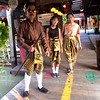 Locals in traditional dress. (bwaters23) Tags: pattaya floating market thailand travel songkran iphone6 asia
