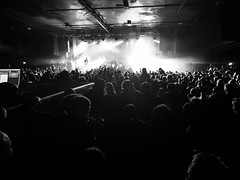 Trivium 2018 (111/365) (Capturing The Negative) Tags: trivium band oneplus 5t phonecamera mobile concert gig music blackandwhite bnw bw raw fltofb manchester project365