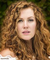 Kristina (WayneToTheMax) Tags: woman lady red head hair eyes green glamour portrait beauty auburn