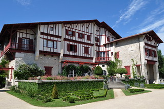 Villa Arnaga (1903-1906), Cambo-les-Bains, Labourd, Pays basque, Pyrénées Atlantiques, Aquitaine, France.