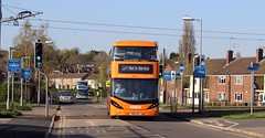 443 & 426 (timothyr673) Tags: nct nctroute36 nottinghamcitytransport nottingham bus scania orange orangeline orangeline36 e400city e400 enviro400 enviro400city n280ud gas cng alexanderdennis adl dennis alexander