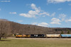 Field Work (nrvtrains) Tags: manifest christiansburgdistrict sunny unionpacific 165 norfolksouthern elliston virginia unitedstates us