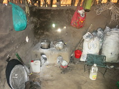 Olua refugee settlement - Kitchen with Lorena stove indoor (FAO Forestry) Tags: fao un uganda refugees unhcr world bank environment energy south sudan woodfuel forestry