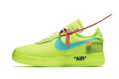 Virgil Abloh x Nike Air Force 1 Low to Release in Volt (eukicks.com) Tags: nike air force one kicks 1 low sneaker collabs offwhite virgil abloh