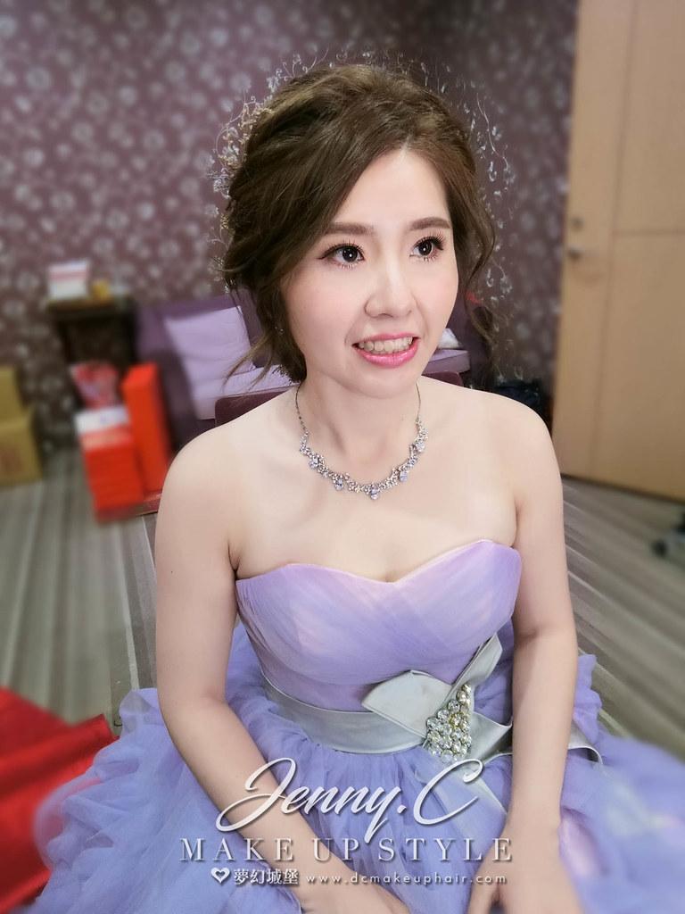 【新秘蓁妮】bride僑韓 訂婚造型 / 豐原儷宴會館