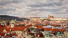 View of Prague (deborahmoynihan) Tags: prague astronomicalclocktower czechrepublic travel travelphotography city cityscape nikond7200 architecture aurorahdr hdr
