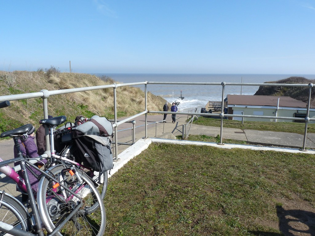 We cycled to West Runton.