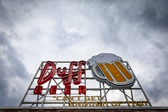 Mmm ... Duff... (christopher.czlapka) Tags: flickr moody sky photography photo sign usa simpsons duff florida beer