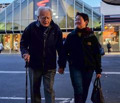 Helping Hand (RP Major) Tags: street people box hill victoria fujix70 walking man woman melbourne