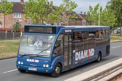 Diamond Bus NW MX09HJG (Mike McNiven) Tags: diamond bus northwest rotala optare solo wythenshawe reddish holdsworthsquare manchester albertsquare hollyhedgeroad martinscroftmetrolinkstop