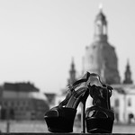 Shoes in front of the Frauenkirche thumbnail