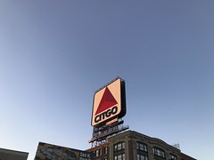 Citgo Sign in Boston (Lux Llama Productions) Tags: boston park walk exercise relax hd landscape newengland history citgo sign dusk dawn downtown city town lif life walking trees tree plant plants foliage freen green duck ducks goose geese massachusetts ma northeast usa us graffiti strong street building charles river pond stream water night day