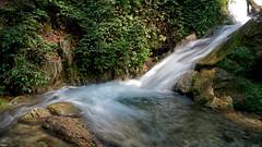 Kabodwal-Waterfall (Poria) Tags: landscape nature view river water slowshot green jungle waterfall iran persia flow طبیعت ایران