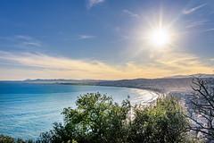 Sunny day in Nice, France (www.alexandremalta.com) Tags: alexandremalta shoreline sun sky sea cityscape landscape seascape sunset beach france nice