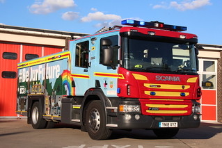 Humberside Fire And Rescue Brand New Be Our Future Wrapped Scania P280