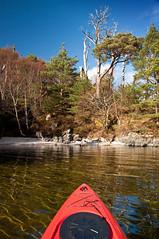 Morar Kayak 21 (chris-parker) Tags: cotland loch morar arisaig lake kayak canoe eigg camasdarach camusdarach hebrides paddle island