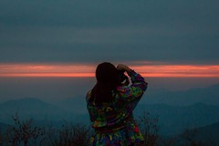 ME and the sunset (Yamily Aa.) Tags: me sunset view follow photographer peru peruvians