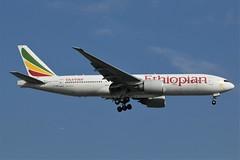 "Ethiopian Airlines""The Sahara"" ET-ANR (shumi2008) Tags: ethiopianairlines ethiopian777 ethiopian772 boeing777200lr staralliancemember mississauga yyz cyyz"