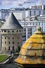 La tour Tanguy depuis le chateau de Brest (France,Finistère) (pascalkerdraon) Tags: france bretagne brittany finistere penn pen ar bed brest chateau tour tanguy echauguette recouvrance rive droite