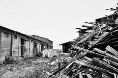 Dresden Lost Place b&w (rainerneumann831) Tags: dresden baustelle holz bw blackwhite blackandwhite ©rainerneumann lostplace