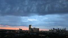 stormy sinrise with cranes Dallass TX (24) (Learn, Love, Conserve) Tags: dallastexas sky crane sunrise