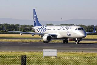 PH-EZX   KLM Cityhopper   Embraer ERJ-190STD(190-100)   CN 19000545   Built 2012   DUB/EIDW 29/06/2018   Skyteam CS