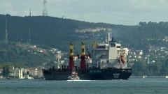 İstanbul'da arızalanan kargo gemisi demir attı (haberihbarhatti) Tags: istanbul italya malta romanya