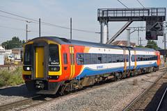 East Midlands Trains 158852 - Peterborough (Neil Pulling) Tags: peterboroughstation eastcoastmainline ecml train transport railway uk eastmidlandstrains158852 eastmidlandstrains 158852 stagecoach