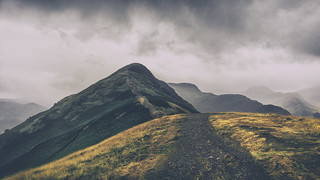 'The Rain Arrived', Catbells, Lake District