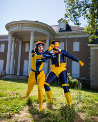 PS_92899 (Patcave) Tags: xmen jeangrey jean grey scottsummers scott summers phoenix cyclops comic book comicbook movie tv superheroes superhero superheroine 2017 atlanta georgia cosplay shoot model cosplayers costume costumers sigma 85mm f14 canon 5d3 1740mm f4 lens