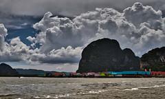 Ko Panyi water village (Johnnyvacc) Tags: kopanyi phangnagbay phuket phuketthailand