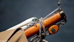 Detail (patrick_milan) Tags: ship boat bateau sail rope pulley