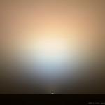 Opportunity Mars sunrise May 6, 2004 s101 thumbnail