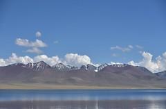 Lake Namtso and Nyenchen Tanghla Mountains, Tibet  (1) (Prof. Mortel) Tags: tibet lake namtso