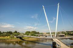 Millenium Bridge (Gary S Bond) Tags: great britain united kingdom 2018 a65 alpha city england historic july lancashire lancaster lune north river shabbagaz sony summer uk west greatbritain unitedkingdom