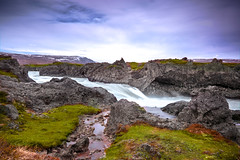 When Rivers Run Red (Summit View) Tags: iceland ice land nikon d7100 ngc island islenska skyr isey waterfall water river torrent sky green grass tonality control