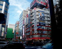 Shibuya, Japan (Viewed Through My Eyes) Tags: japan shibuya tokyo vacation art advertising olympus omd em10 slr