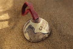 Trinket (MintyLove) Tags: macromondays trinkets sand seed zebra carvings sun canon eos 600d namibia macro