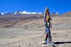 Prayer Flags at Tso-moriri (pallab seth) Tags: prayerflags religious tibetan buddhist culture tsomoriri lakemoriri ladakh jammukashmir india autumn colour color landscape mountains himalayas highaltitudelake morning tsomoririwetlandconservationreserve