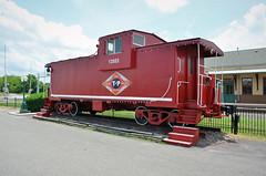 Texas & Pacific Railway No. 13553, Texas, Mineola (EC Leatherberry) Tags: texaspacificrailway texas mineolatexas caboose railroad woodcounty missouripacificrailroad 1972
