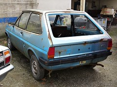 Ford Fiesta 1.1 S (Alessio3373) Tags: cars oldcars abandoned abandonment abandonedcars autoabbandonate unused unloved neglected forgotten forgottencars rust rusty rusted rustycars scrap scrapped scrappedcars corroded corrosion ruggine ford fiesta fordfiesta fordfiesta11s