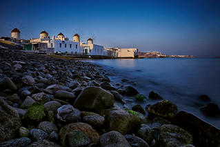 The Iconic Mykonos Windmills