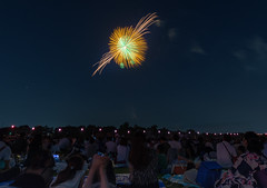 #216 Arakawa hanabi 2018-8 (tokyobogue) Tags: tokyo japan ukimafunado arakawa river riverbank hanabi fireworks itabashihanabi2018 itabashifireworks2018 nikon nikond7100 d7100 tamron tamron1024mmdiiivc 365project